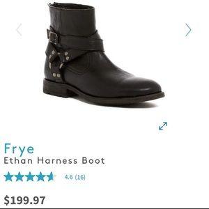 Frye Ethan Harness Boot/mens. Sz 9 1/2. Like new